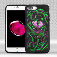 Military Grade Certified Challenger Graphic Hybrid Case for iPhone 8 Plus / 7 Plus - Medusa