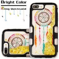 TUFF Quicksand Glitter Hybrid Armor Case for iPhone 8 Plus / 7 Plus / 6S Plus / 6 Plus - Dreamcatcher