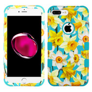 Military Grade Certified TUFF Image Hybrid Armor Case for iPhone 8 Plus / 7 Plus - Spring Daffodils