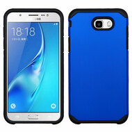 Hybrid Multi-Layer Armor Case for Samsung Galaxy J7 (2017) / J7 V / J7 Perx - Blue