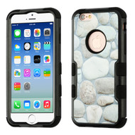 Military Grade Certified TUFF Image Hybrid Armor Case for iPhone 6 / 6S - Rocky Pebbles