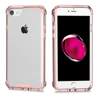Polymer Transparent Hybrid Case for Apple iPhone 8 / 7 - Rose Gold