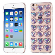 3D Heart Candy Case for iPhone 6 / 6S - Purple