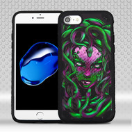 Military Grade Certified Freestyle Challenger Graphic Hybrid Case for iPhone 8 / 7 - Medusa