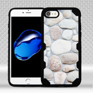 Military Grade Certified Freestyle Challenger Graphic Hybrid Case for iPhone 8 / 7 - Rocky Pebbles