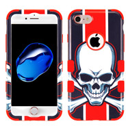 Military Grade Certified TUFF Image Hybrid Armor Case for iPhone 8 / 7 - Union Jack Skull