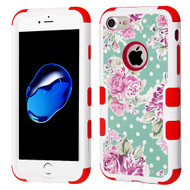 Military Grade Certified TUFF Image Hybrid Armor Case for iPhone 8 / 7 - Roses