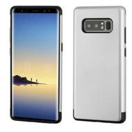 Slim Armor Multi-Layer Hybrid Case for Samsung Galaxy Note 8 - Silver
