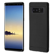 Perforated TPU Case for Samsung Galaxy Note 8 - Black