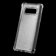 Premium Sparkling Sheer Glitter Candy Skin Cover for Samsung Galaxy Note 8 - Clear