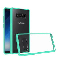 Polymer Transparent Hybrid Case for Samsung Galaxy Note 8 - Baby Blue