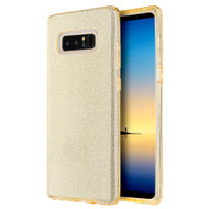 *Sale* Full Glitter Hybrid Protective Case for Samsung Galaxy Note 8 - Gold