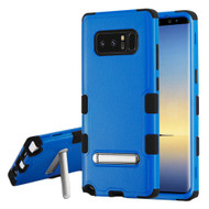Military Grade Certified TUFF Hybrid Armor Case with Stand for Samsung Galaxy Note 8 - Blue