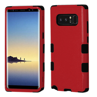 *Sale* Military Grade Certified TUFF Hybrid Armor Case for Samsung Galaxy Note 8 - Red