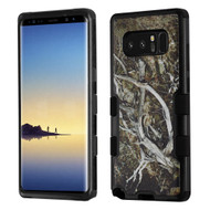 Military Grade Certified TUFF Image Hybrid Armor Case for Samsung Galaxy Note 8 - Tree Camouflage
