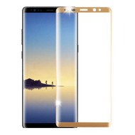 3D Curved Full Coverage Premium HD Tempered Glass Screen Protector for Samsung Galaxy Note 8 - Gold