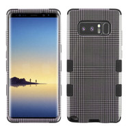 Military Grade Certified TUFF Image Hybrid Armor Case for Samsung Galaxy Note 8 - Grey Blazer