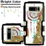 TUFF Quicksand Glitter Hybrid Armor Case for Samsung Galaxy Note 8 - Dreamcatcher