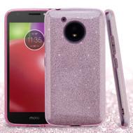 *Sale* Full Glitter Hybrid Protective Case for Motorola Moto E4 - Pink
