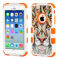 Military Grade Certified TUFF Image Hybrid Armor Case for iPhone 6 / 6S - Majestic Lion