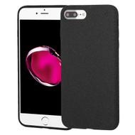 Suede Feel Premium TPU Case for iPhone 8 Plus / 7 Plus - Black