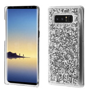 Desire Bling Bling Crystal Cover for Samsung Galaxy Note 8 - Rhinestones Silver