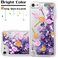 Quicksand Glitter Transparent Case for iPod Touch 5th / 6th Generation - Lollipop