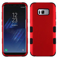 Military Grade TUFF Hybrid Armor Case for Samsung Galaxy S8 Plus - Red