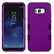 Military Grade Certified TUFF Hybrid Armor Case for Samsung Galaxy S8 Plus - Purple