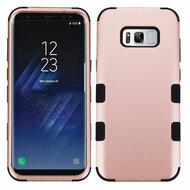 Military Grade TUFF Hybrid Armor Case for Samsung Galaxy S8 Plus - Rose Gold