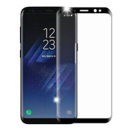 *SALE* HD Full Curved Coverage Premium 3D Tempered Glass Screen Protector for Samsung Galaxy S8 - Black