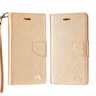 Leather Wallet Shell Case for Samsung Galaxy Note 8 - Rose Gold