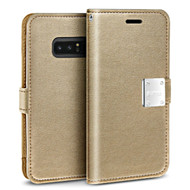 Essential Leather Wallet Case for Samsung Galaxy Note 8 - Gold