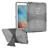 Shockproof Hybrid Armor Case with Stand for iPad (2018/2017) - Grey