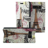 Designer Graphic Leather Wallet Stand Case for Samsung Galaxy Note 8 - Paris