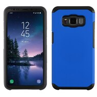 Hybrid Multi-Layer Armor Case for Samsung Galaxy S8 Active - Blue
