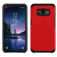 Hybrid Multi-Layer Armor Case for Samsung Galaxy S8 Active - Red