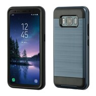 Brushed Hybrid Armor Case for Samsung Galaxy S8 Active - Ink Blue
