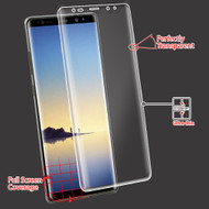 Curved Coverage Crystal Clear Screen Protector for Samsung Galaxy Note 8