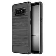*Sale* Carbon Tech Premium Brushed TPU Case for Samsung Galaxy Note 8 - Black