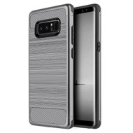 *Sale* Carbon Tech Premium Brushed TPU Case for Samsung Galaxy Note 8 - Grey
