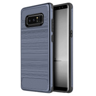 *Sale* Carbon Tech Premium Brushed TPU Case for Samsung Galaxy Note 8 - Slate Blue