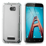 *Sale* Ultra Hybrid Shock Absorbent Crystal Case for Coolpad Defiant - Clear