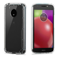 Ultra Hybrid Shock Absorbent Crystal Case for Motorola Moto E4 - Clear
