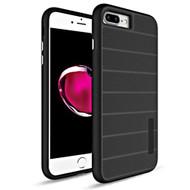 *Sale* Haptic Dots Texture Anti-Slip Hybrid Armor Case for iPhone 8 Plus / 7 Plus - Black