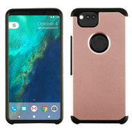 Hybrid Multi-Layer Armor Case for Google Pixel 2 - Rose Gold