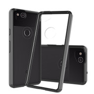 Polymer Transparent Hybrid Case for Google Pixel 2 - Black