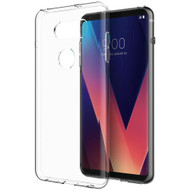 Rubberized Crystal Case for LG V30 / V30+ - Clear