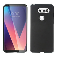 Rubberized Crystal Case for LG V30 / V30+ - Black
