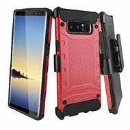 *Sale* Eclipse Legend Anti Shock Hybrid Armor Case and Holster for Samsung Galaxy Note 8 - Red